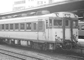 非電化区間の急行列車で活躍した...